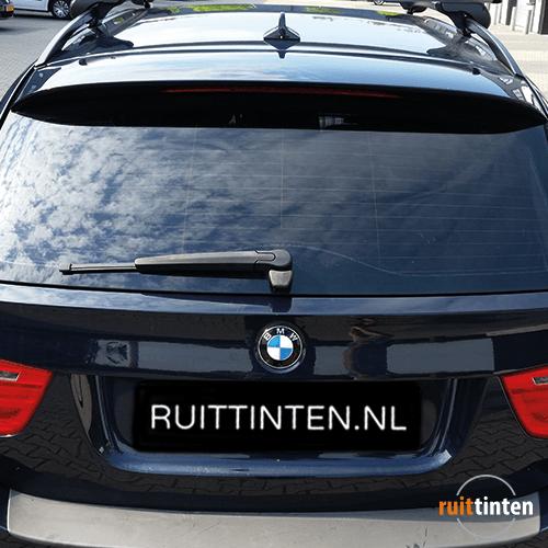 BMW achterruit laten blinderen