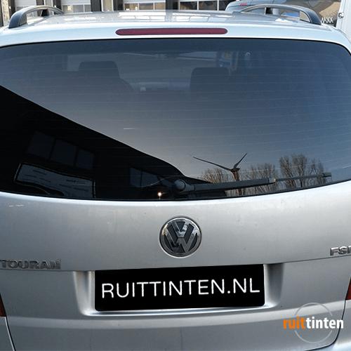 Volkswagen Touran achter geblindeerd