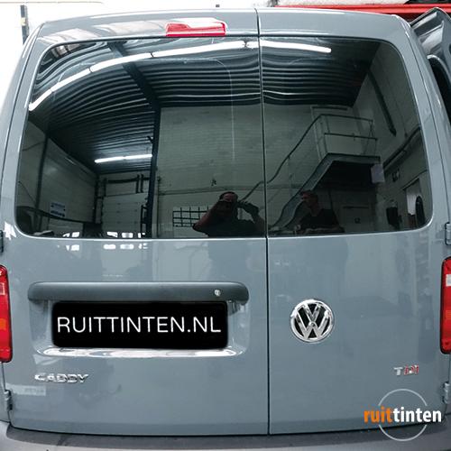 Volkswagen caddy achterruit blinderen