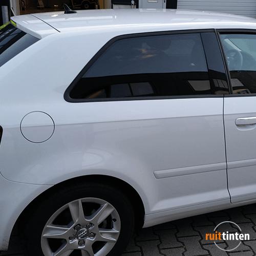 Zijruit Audi A3 geblindeerd
